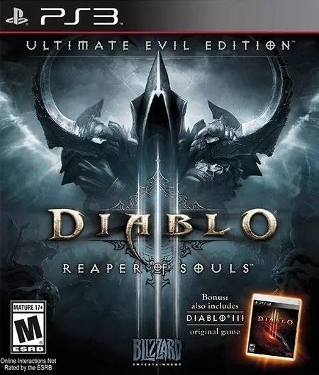 Diablo 3 Reaper Souls Ps3 Original Envio Imediato Dublado