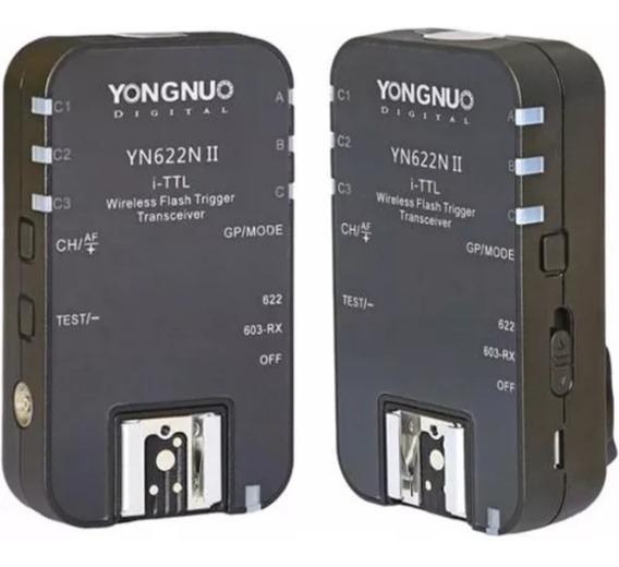Rádio Flash Yongnuo Yn-622n Ii I-ttl (para Nikon)par