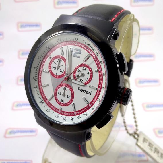 Relógio Ferrari Runner Fc007-b Cronógrafo Masculino Original