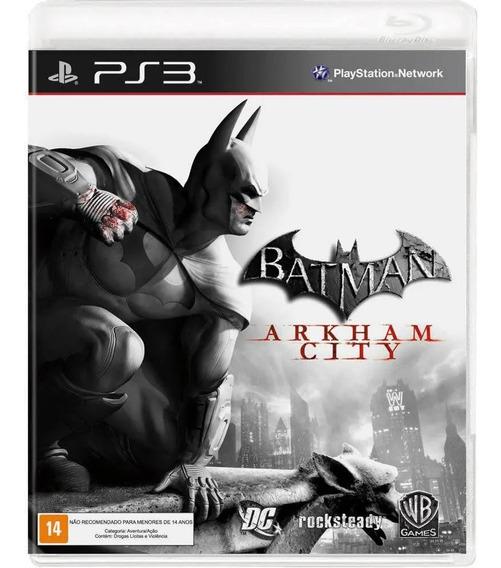 Ps3 - Batman Arkhan City - Mídia Física