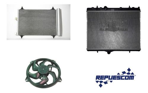 Kit Radiadores Y Electroventilador De Peugeot Partner Hdi
