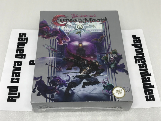 Bloodstained: Curse Of The Moon Classic Limited Edition Ps4