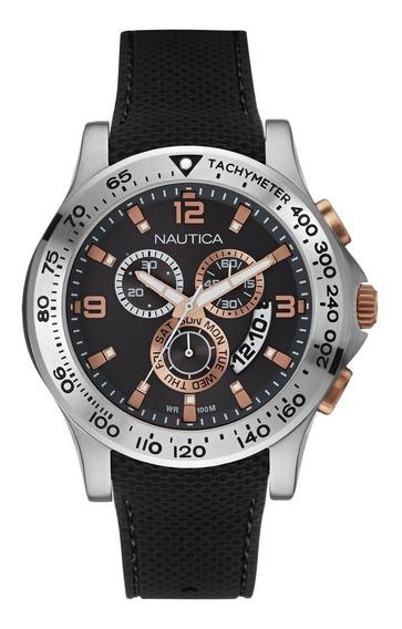 Relógio Nautica Masculino Chronograph Nad19504g