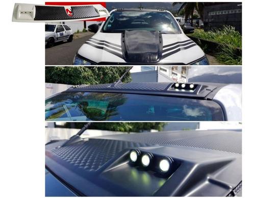 Barra Deflector Estilo Raptor C/leds Toyota Hilux Revo/rocco