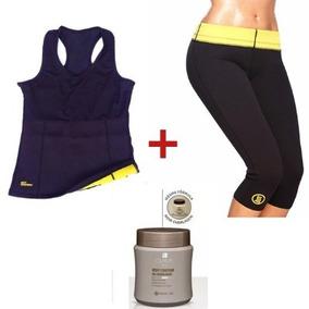 Roupa Témica Modeladora Hot Shapers Fitness Queima Gorduras