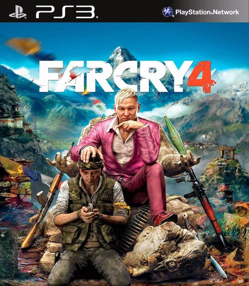 Far Cry 4 Portugues Ps3 Psn - Midia Digital