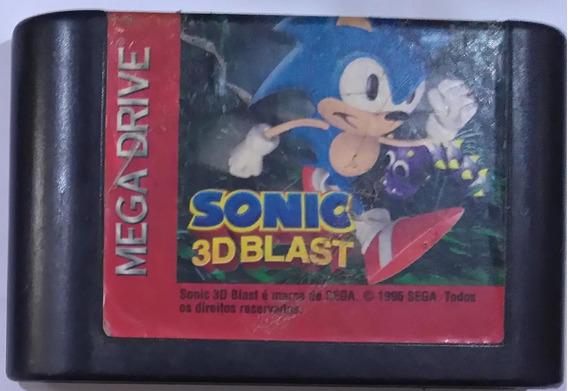 Cartucho Sonic 3d Blast Drive Original