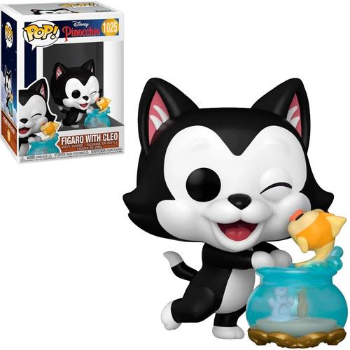 Imagem 1 de 4 de Funko Pop Disney Pinocchio Figaro Cleo 1025 Gato Pinoquio