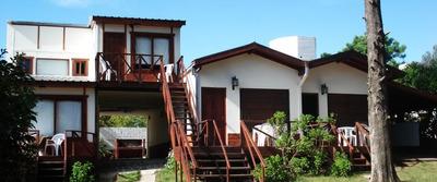 Cabañas Gesell Centro Equipadas Servicios Cochera Parrilla
