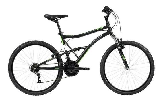 Bicicleta Aro 26 Xrt-freio V-brake Em Aluminio Preta - Caloi
