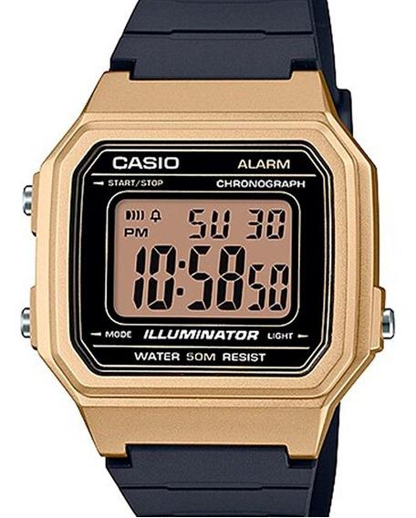 Relógio Casio Masculino Digital Dourado W-217hm 9avdf