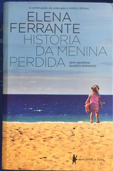 Livro História Da Menina Perdida - Quarto Romance
