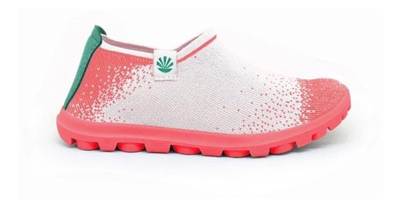 Zapatillas Kioshi Nairon Kioknit Blanco Coral