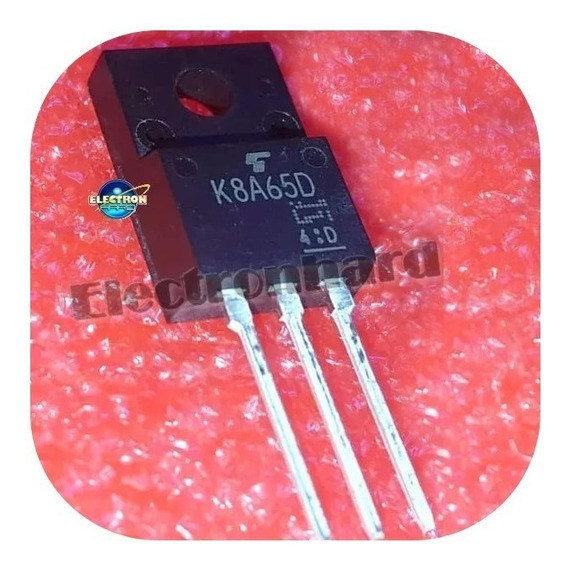 K8a65d K8a65 Tk8a65d Tk 8a65d Transistor Fet N 650v 8a 45w