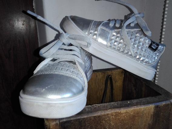 Zapatillas Ecocuero Nenas Brillosas!!!!! 17 Al 26 Unicas!!
