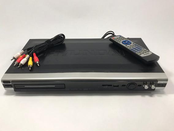 Dvd Player Hyundai Hy 2000 + Brinde - Leia O Anuncio