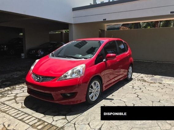Honda Fit 10 Rojo