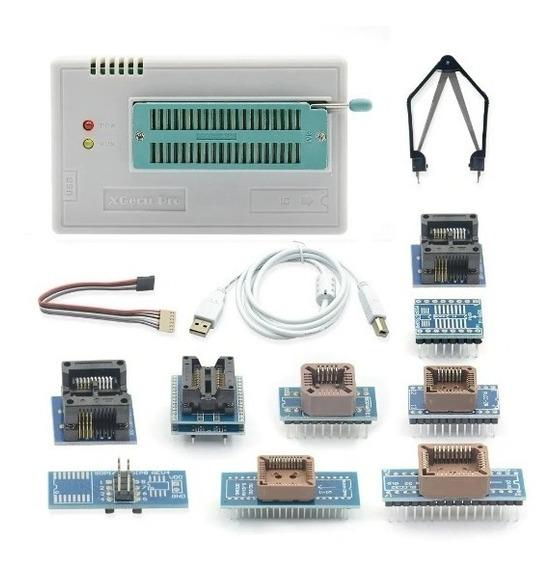 Gravador Minipro Tl866ii Plus Bios Flash Eprom Nand Tl866