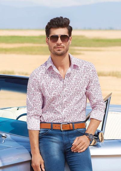 Camisas Blanco Rojo 1405194