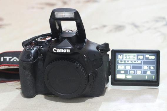 Canon T3i Corpo . A Vista Fica 950