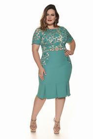 Vestidos Plus Size Moda Evangelica Varios Modelos Elegante