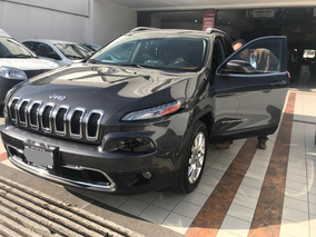 Jeep Cherokee 2.4 Limited Mt, Único Dueño, Gris Y Piel