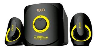 Parlante Mini Componente2.1 Bluetooth Alta Potencia 100rms ,