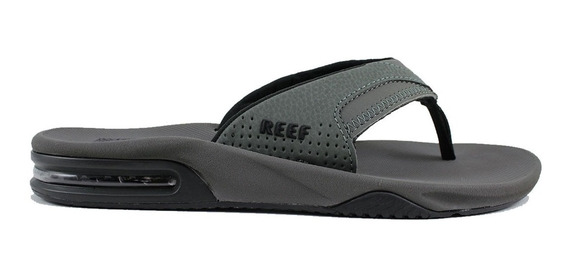 Reef Ojotas Fanning Grey Black 2026 (3015)