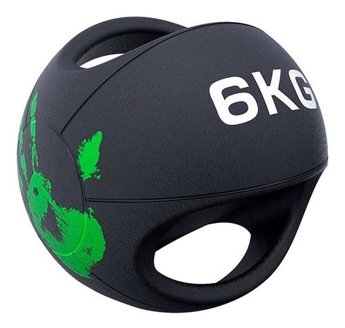 Balón Medicinal Doble Agarre 6 Kg