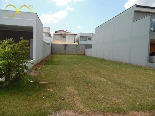 Terreno À Venda, 300 M²  Condomínio Club  Reserva Real - Paulínia/sp - Te0316