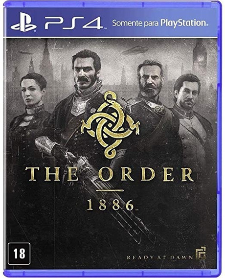 The Order: 1886 - Ready At Dawn Ps4 (mídia Física) Lacrado