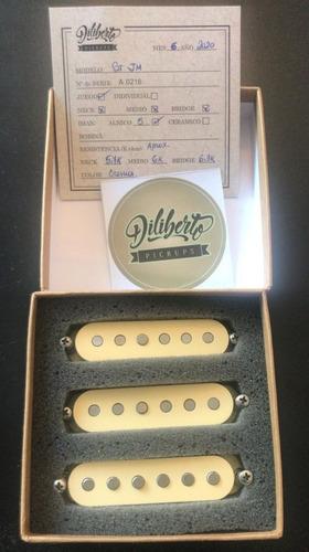 Set Microfonos Diliberto Stratocaster St John Mayer
