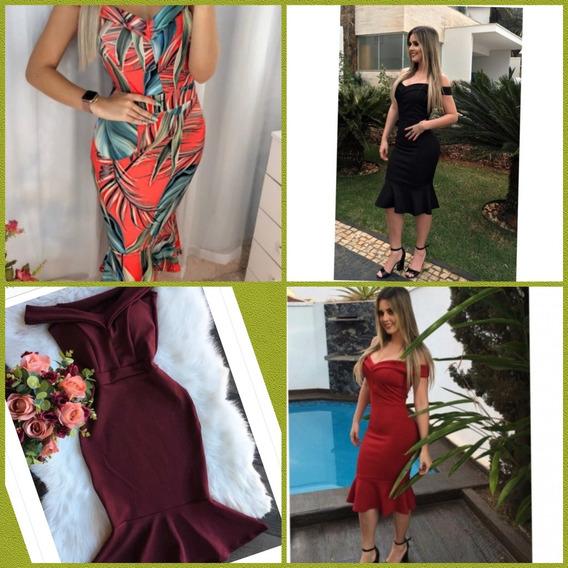 Vestidos Moda.estilo Boneca E Curtos E Midi