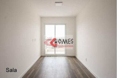 Apartamento Com 2 Dormitórios À Venda, 60 M² Por R$ 325.000,00 - Parque Das Nações - Santo André/sp - Ap2791