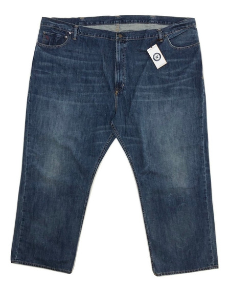 Talla Extra 54 X 32 Pantalon Mezclilla Relaxed Fit Plus Size