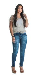Kit 4 Calças Jeans Feminina Laycra 2,5% Atacado Revenda