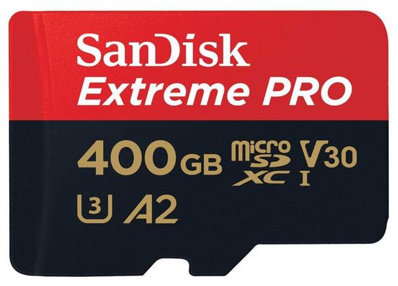Memoria Gopro Hero 6 7 Micro Sd Sandisk Extreme Pro 400gb A2