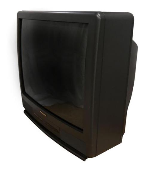 Tv Televisor Panasonic 27 Stereo Crt Tubo
