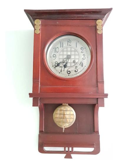 Reloj De Dos Cuerdas Antiguo