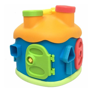 Juguete Casa Didáctica De Encastre Y Formas Zippy Toys +3