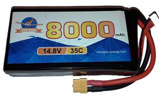 Batería Litio Lipo 4s 14.8v 8000mah 35c Drones Uav