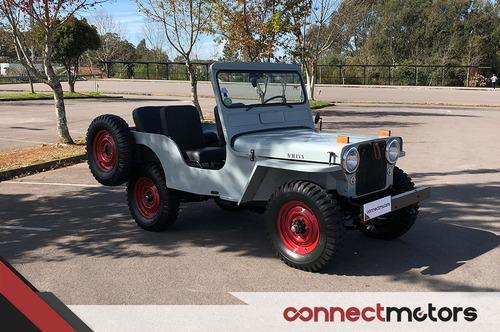 Jeep Willys Cj-3a - 1949 (placa Preta)