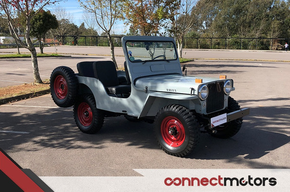 Jeep Willys Cj-3a - 1949 (placa Preta)