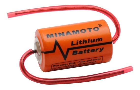 Bateria Er14250 1/2aa 3,6v 1200mah Lithium Cna - Minamoto