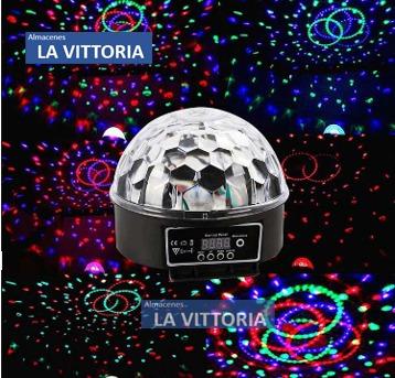 Luz Led Bola Magica Bares Karaokes Discotecas Fiestas