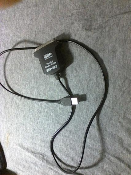 Cable Adaptador Puerto Paralelo A Usb Impresora Matriz Punto