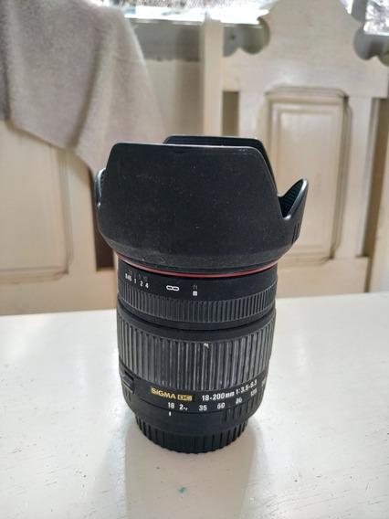 Sigma 18-200mm - Canon