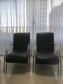 Poltronas Tubulares Para Sala/escritório