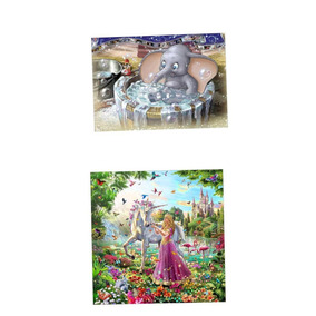2x Diy 5d Diamante Pintura Beleza Animal Floral Needlecrafts