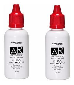 02 Tratamento Fluído Anti Micose P/ Unhas 30ml Abelha Rainha